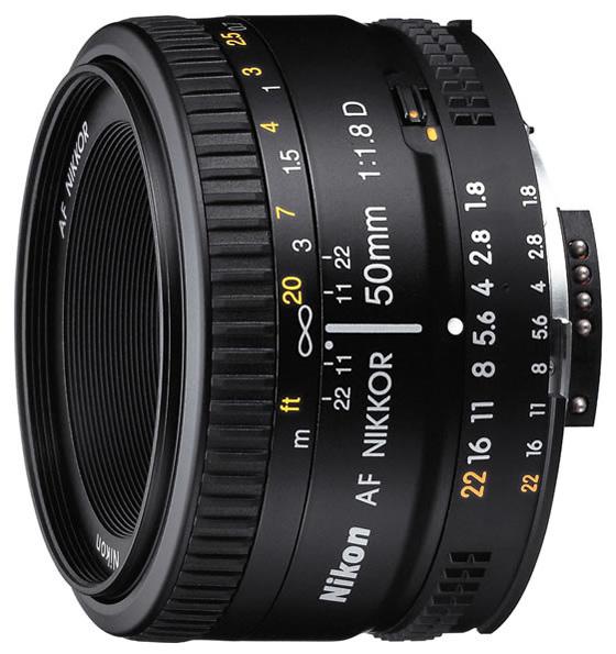 Nikon AF50MM F/1.8 D