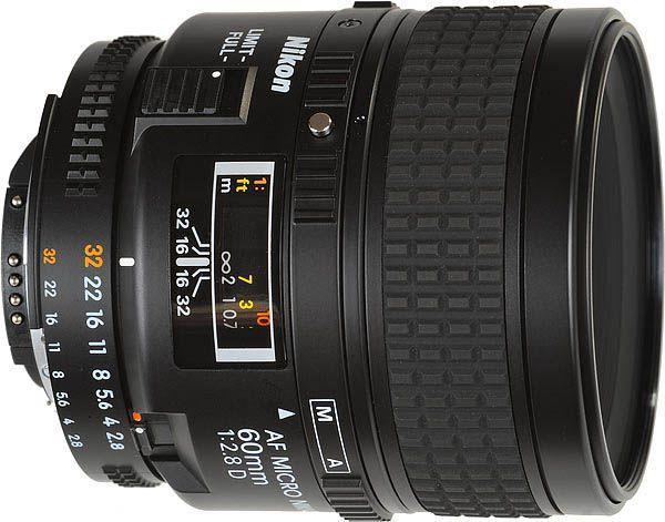 Nikon AF60MM F/2.8D MICRO