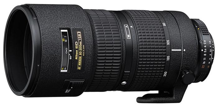 Nikon AF80-200MM F/2.8D ED