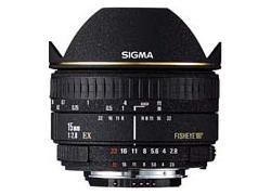 Sigma AF15MM F/2.8 EX DIAGONAL FISHEYE для  CANON