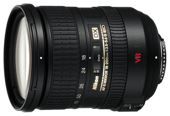 Nikon AF-S 18-200mm f/3.5-5.6G IF-ED VR DX Zoom-Nikkor