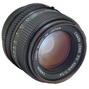 Canon FD 50 mm f/1.4