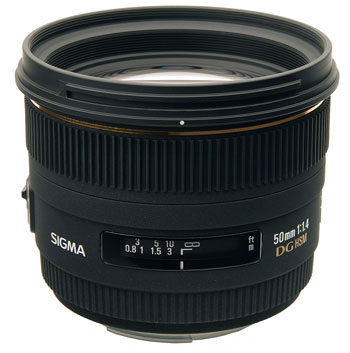 Sigma 50mm f/1.4 EX DG HSM для Canon