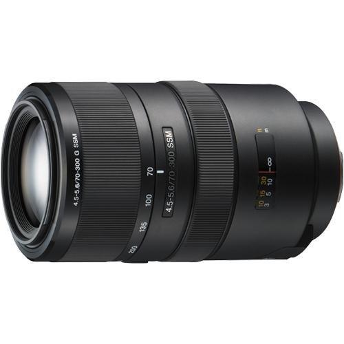 Sony SAL-70300G 70-300mm f/4.5-5.6 SSM ED G-Series Compact Super Telephoto Zoom Lens