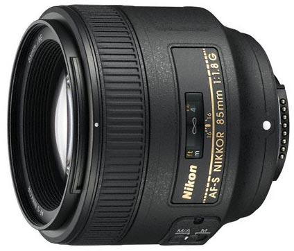 Nikon AF-S NIKKOR 85 мм f/1,8G