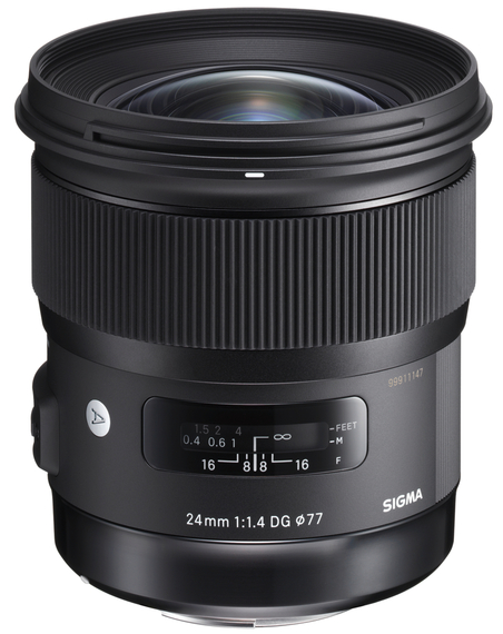 Sigma AF 24 mm F1.4 DG HSM Art для Canon