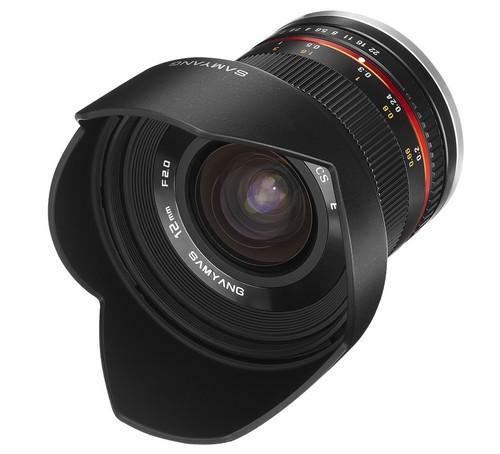 Samyang 12mm f/2.0 ED AS NCS CS
