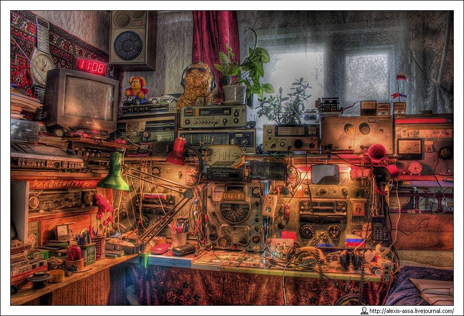 радио, аппаратура, hdr, Alexis Assa