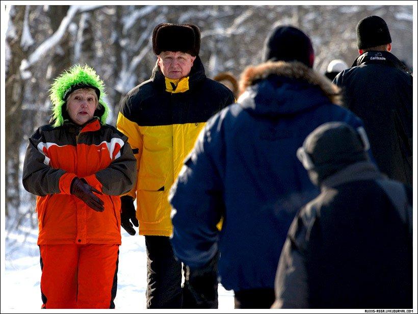 Яркие, зима, Кусково, Alexis Assa