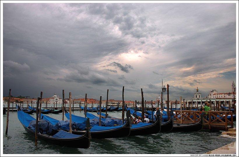 Италия, Венеция, гондола, Alexis Assa