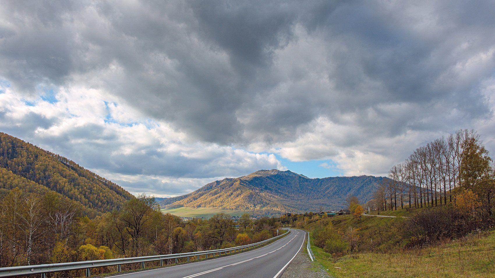 пейзаж, горы, осень, Горный Алтай , Потапов Александр