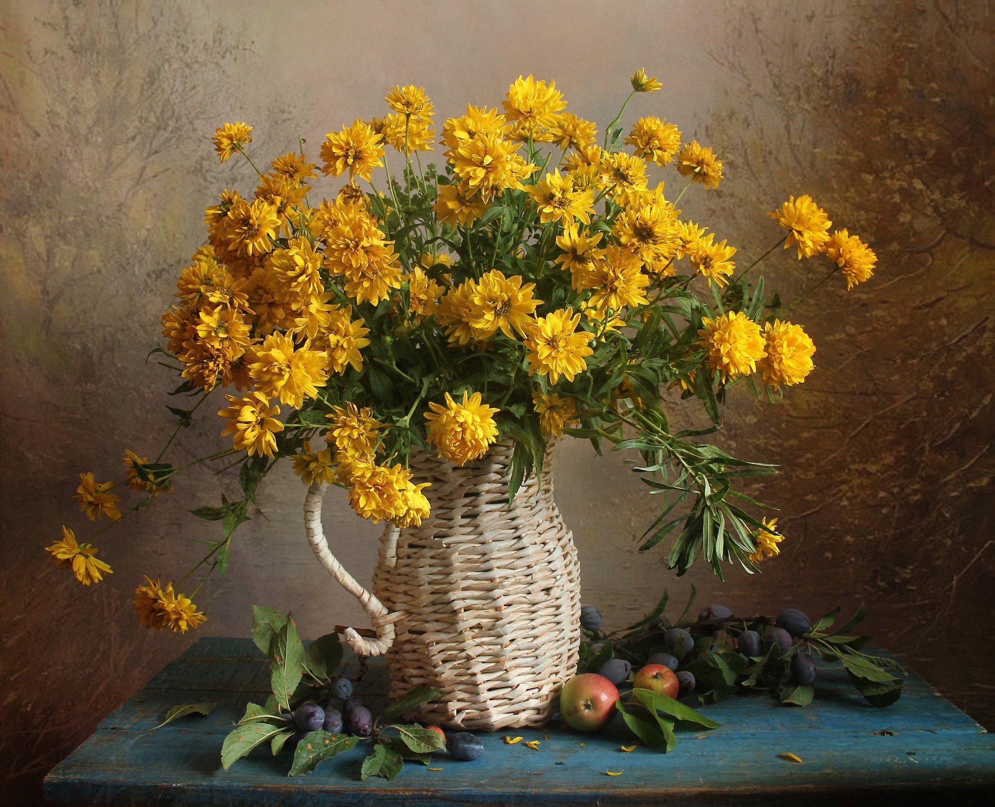 осень,  цветы, натюрморт, марина филатова, Филатова Марина