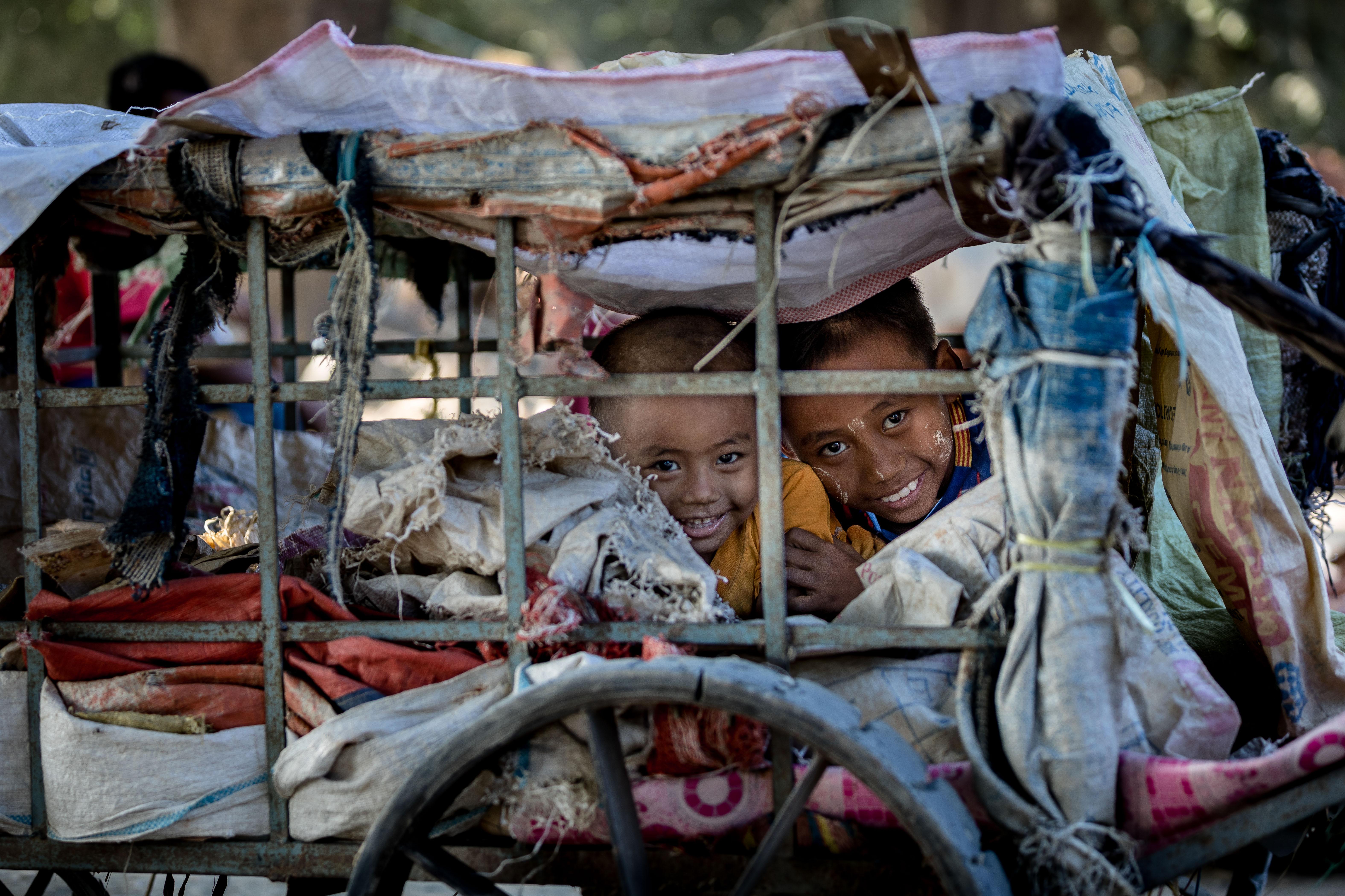 мьянма, дети, стрит, репортаж, Логунов Максим