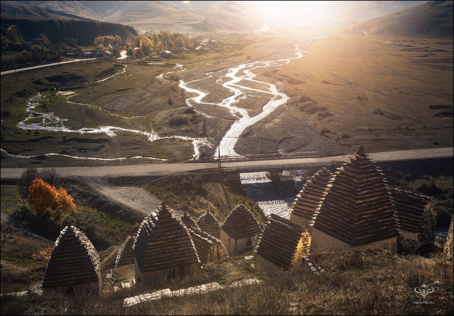 Россия, Северная Осетия, Даргвас, город мертвых, Mikhail Vorobyev