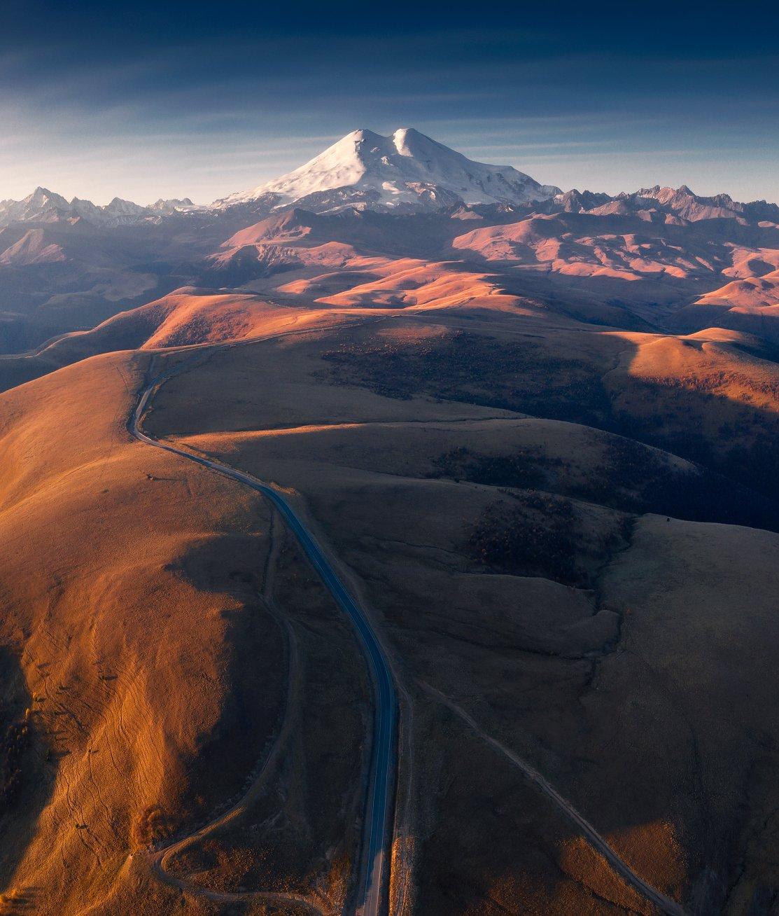 эльбрус, кавказ, пейзаж, elbrus, mountain, горы, Сергей Луканкин