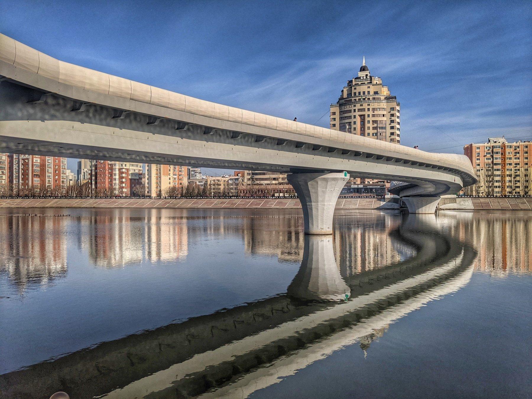мост, изгибы, линии, Олейник Игорь
