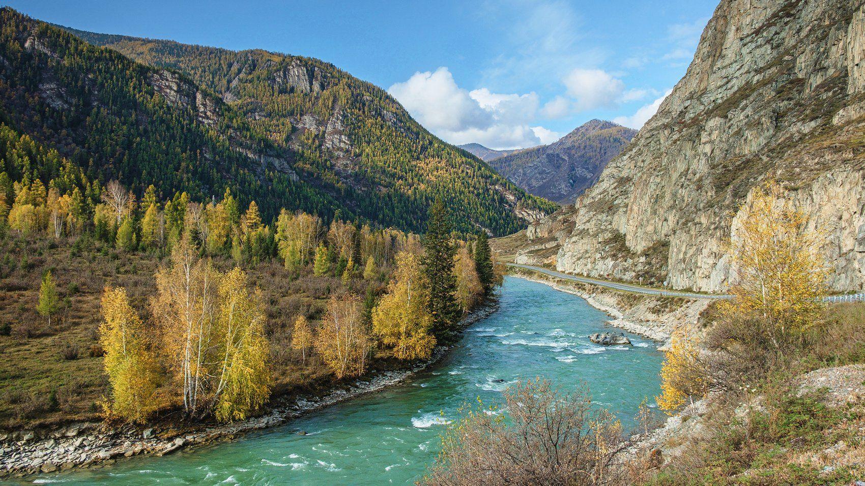пейзаж, горы,река,Горный Алтай , Потапов Александр