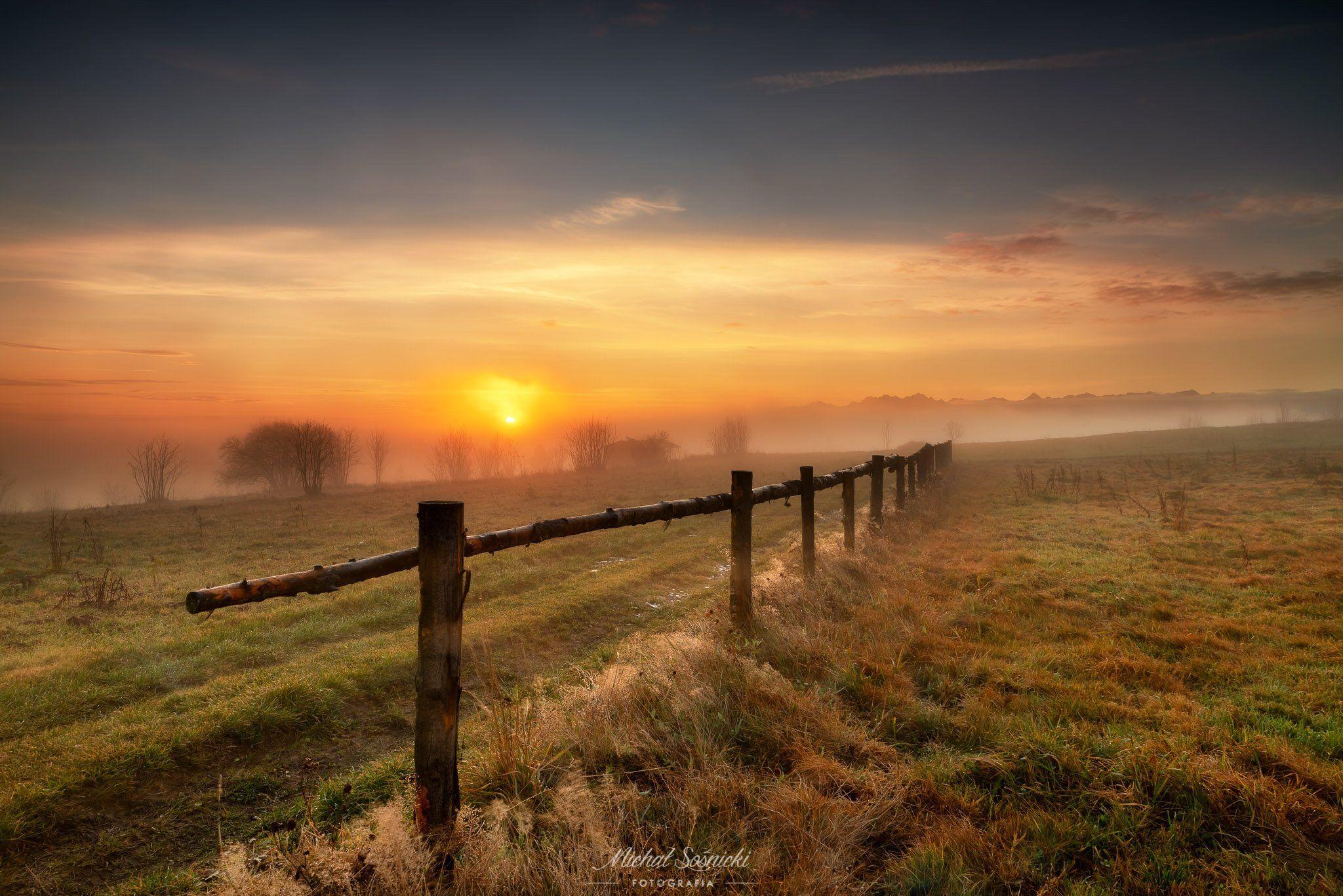 #autumn #poland #mountains #foggy #pentax #benro #benq, Sośnicki Michał