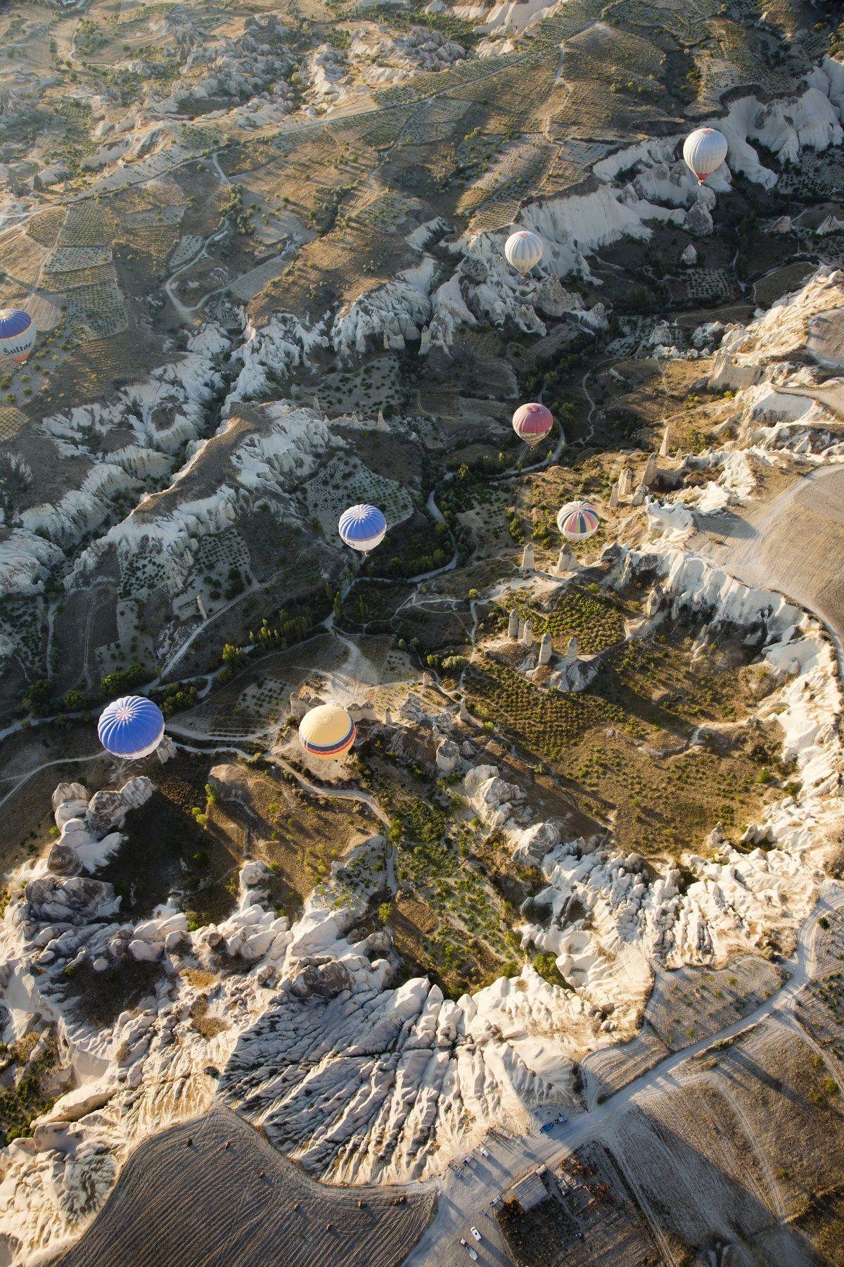 полёт, путешествие, шар,земля, рельеф,ландшафт,пейзаж,landscape,travel,fly,balloon,earth,cappadocia, Грачёв Олег
