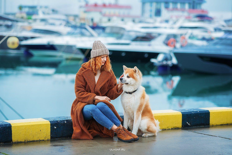 сочи, порт, морвокзал, яхты, sochi, акита, собака, dog, портрет, зима, море, winter, друзья, happy, любовь, love, 105mm, beautiful, nikon, Юлия Сафо