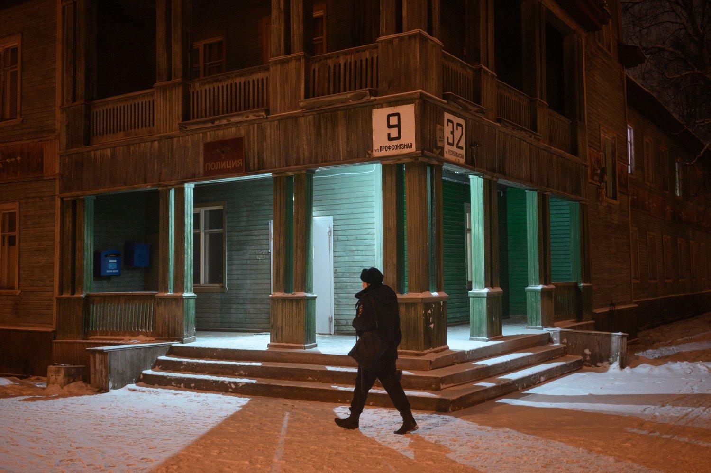 уличная фотография, streetphotography, северодвинск, ночь,, Александр Малафеевский