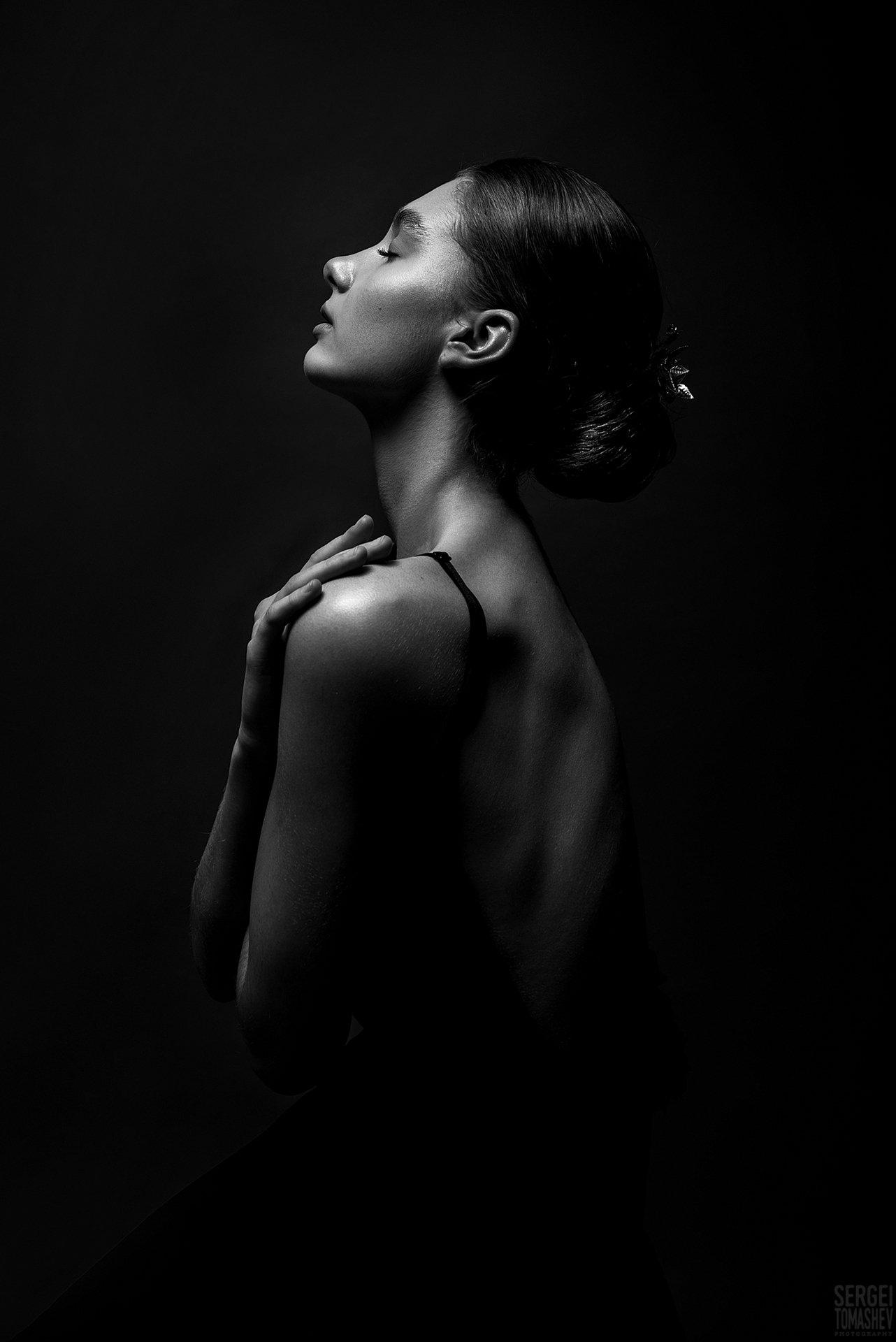 портрет, девушка, модель, 2021, Томашев Сергей