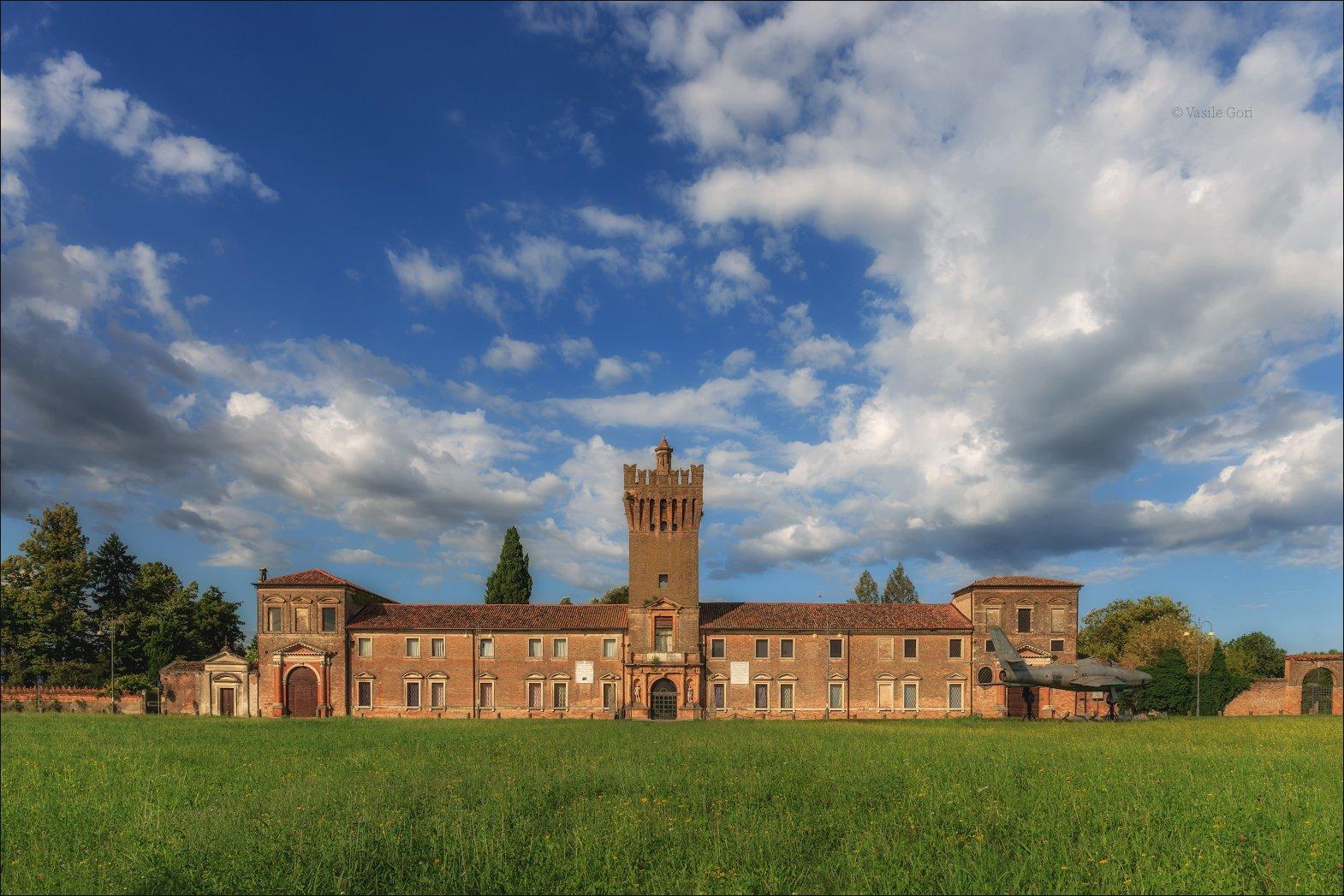 italy,san pelagio,colli euganei, вилла,италия,эвганские холмы,венето,castello, Василий Гори.