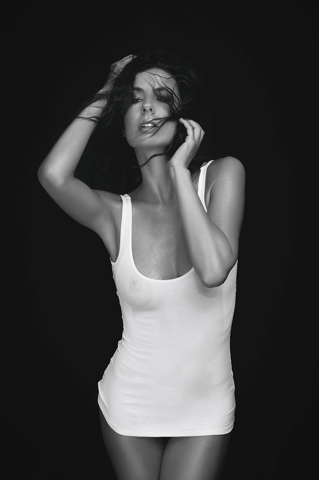 model, fine art, sexy, sensual, black and white, woman, female, body, erotica, glamour, curves, portrait, beautiful, fashion, portrait, hair,, Lajos Csáki