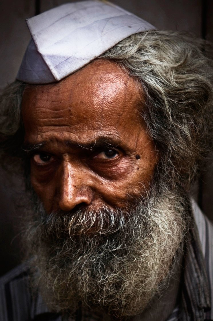 Brown, India, People, Portrait, colourplay