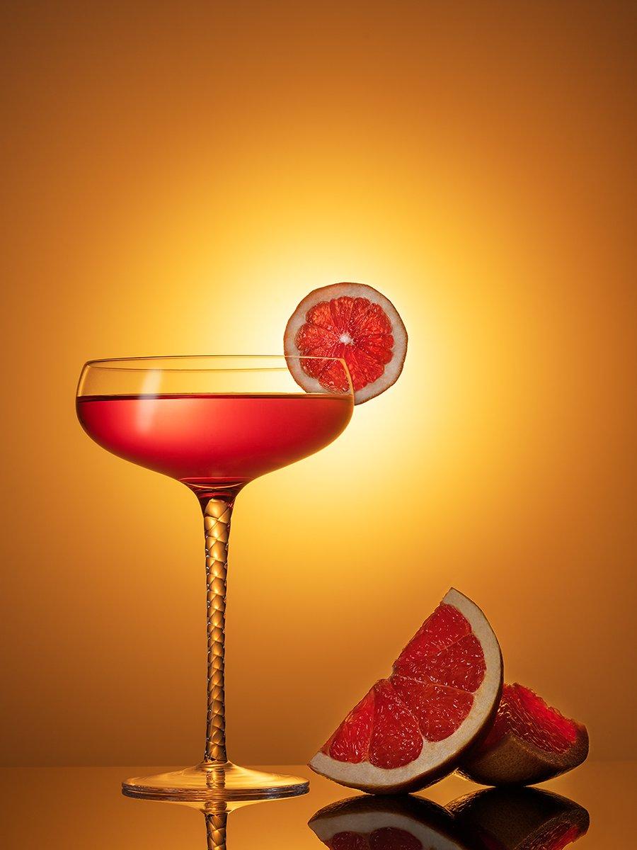 бокал, коктейль, напиток, напитки, апельсин, грейпфрут, предметная фотография, предметка,, Ольга ЯR