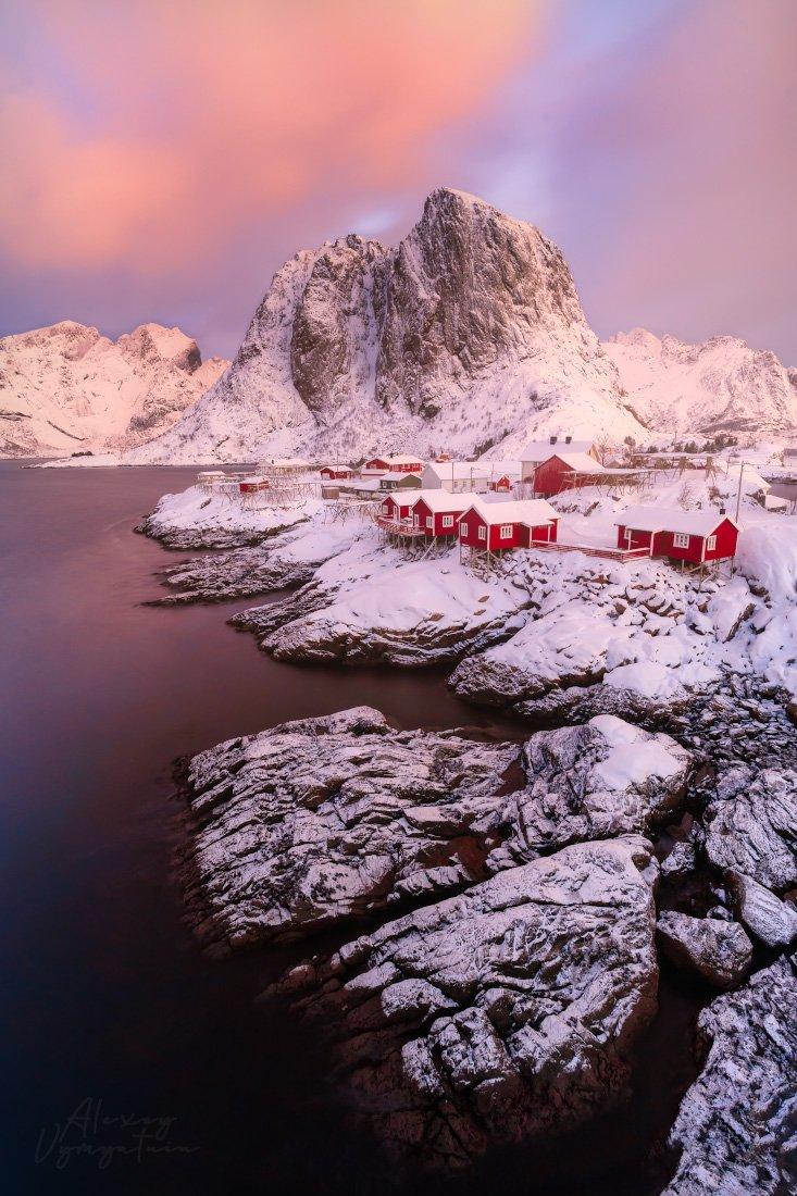 norway, lofoten, winter, north, islands, iconic, Алексей Вымятнин