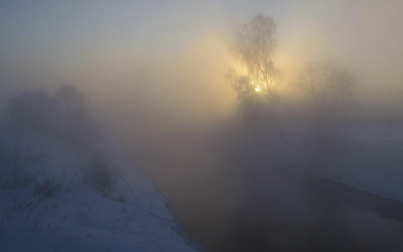 зима, утро, истра, Михаил Агеев