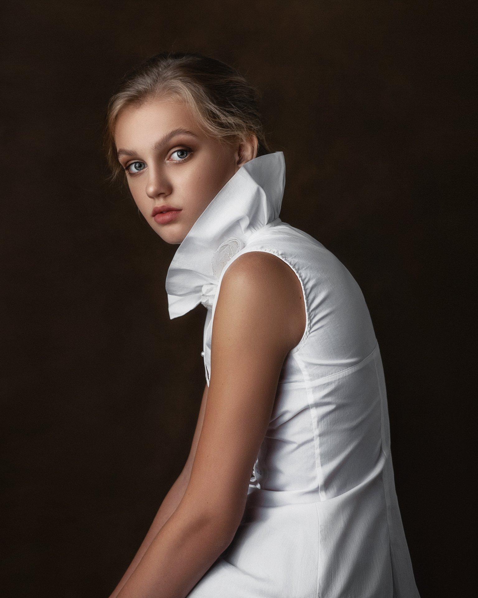 портрет, студия, артпортрет, модель, Макаров Максим