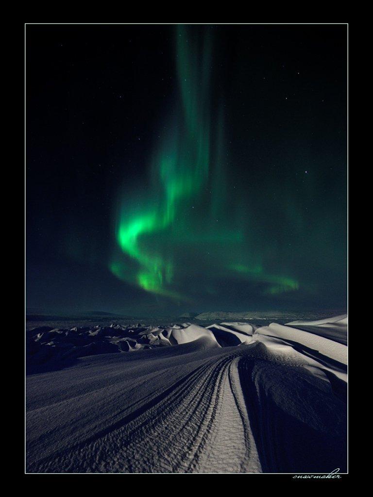 фото, чукотка, снег, photo, chukotka, snowmaker, северное сияние, полярное сияние, polar light, snowmaker