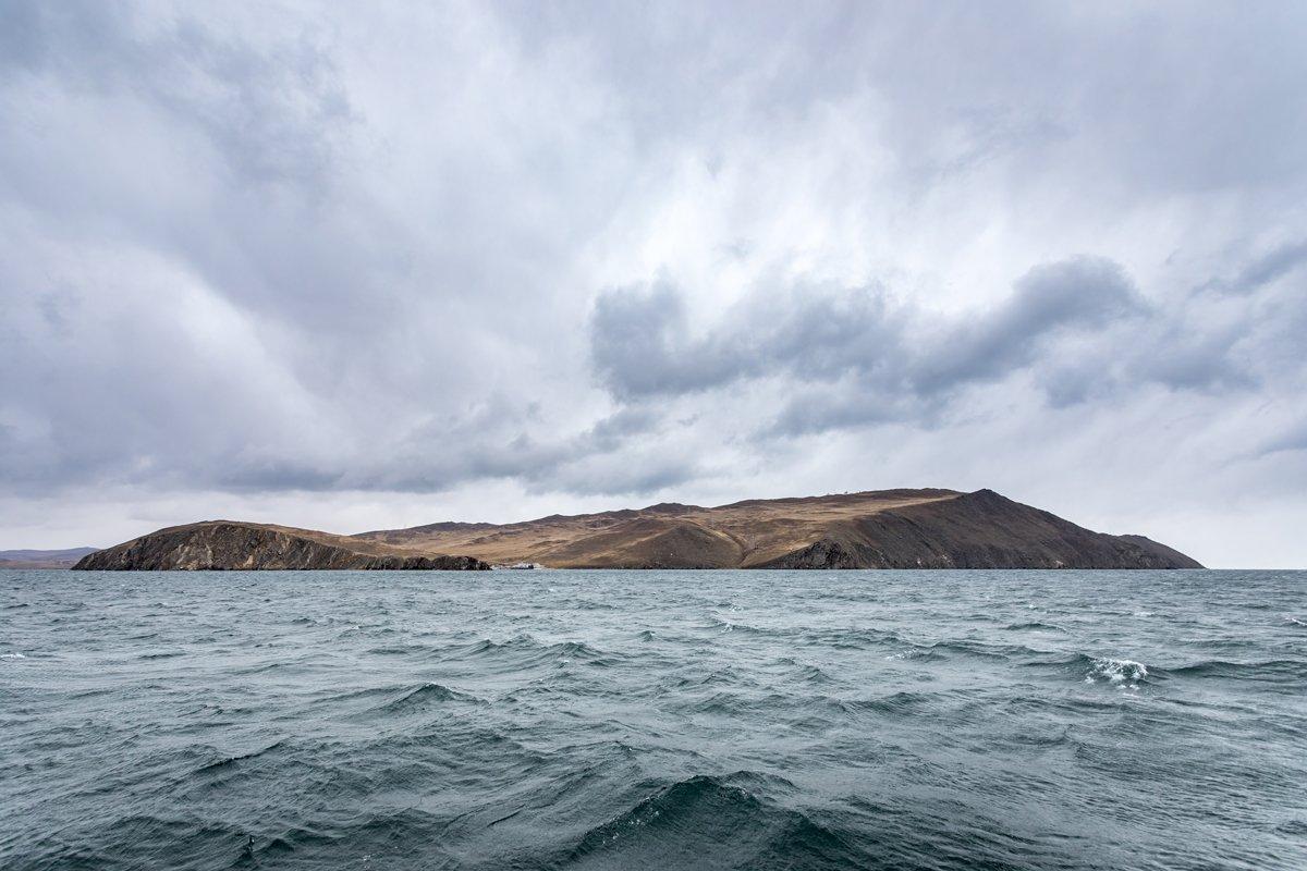 озеро, байкал, пролив, ольхонские ворота, малое, море, шторм, осень, остров, ольхон, Вячеслав Мельников