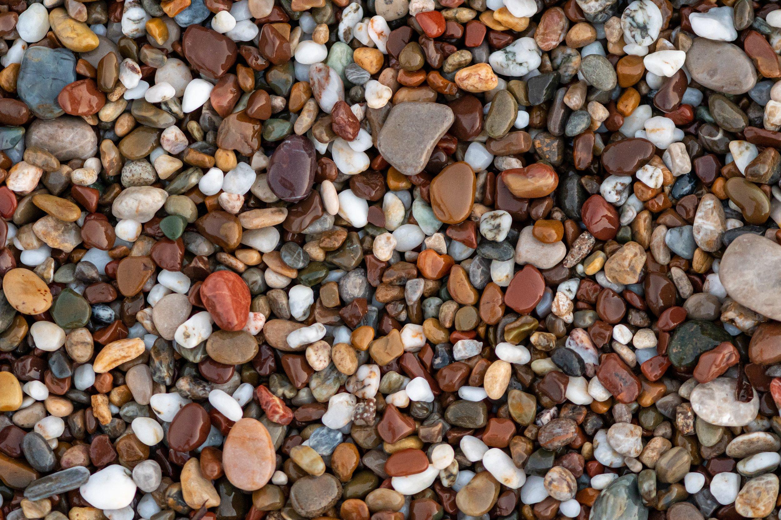 Sea; Turkey; beach; black; colors; colours; damp; details; dotted; macro; moist; pebble; red; seaside; stones; water; wet; white; yellow; ,  Mykhailo
