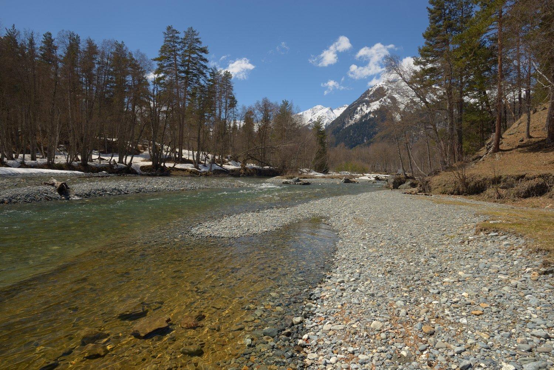 горы, весна, архыз, река, Александр Жарников