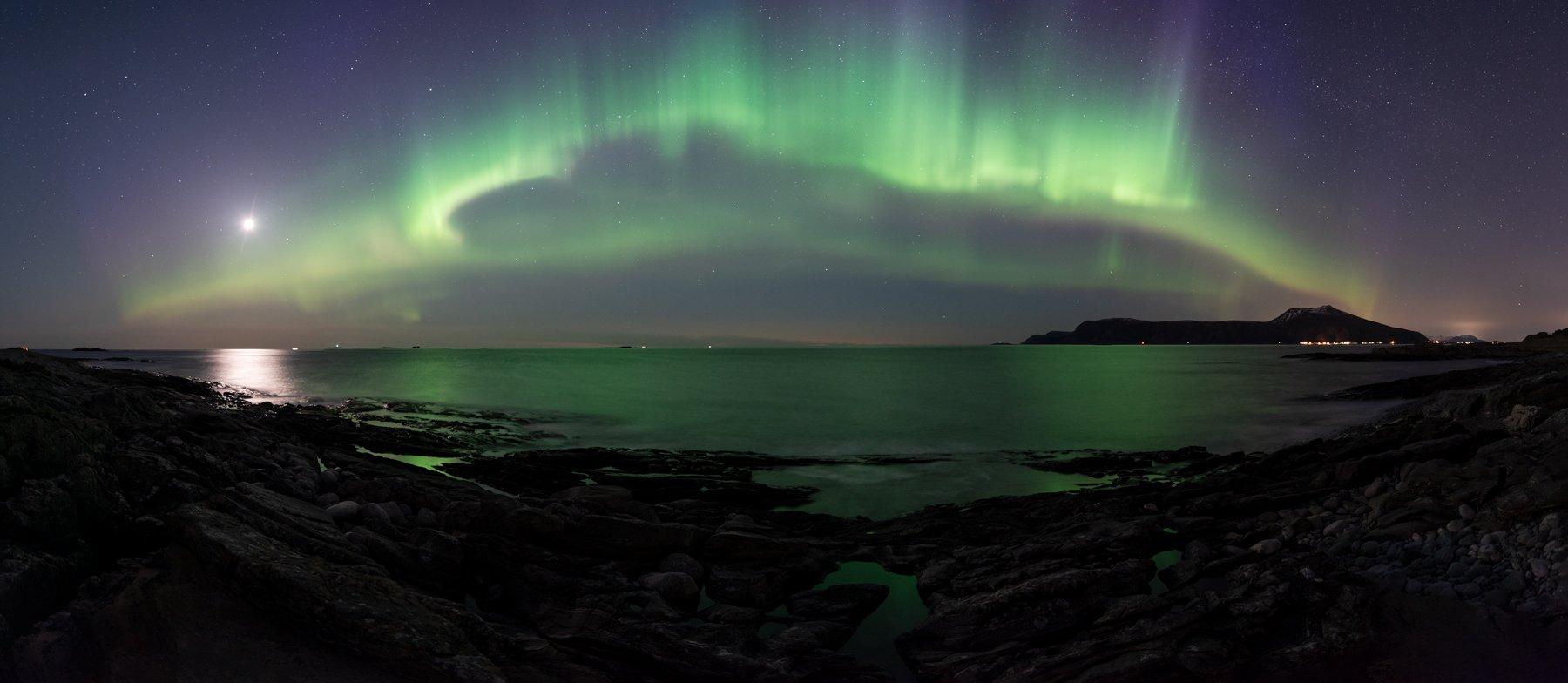 aurora,norway,night,landscape, Tomek Orylski