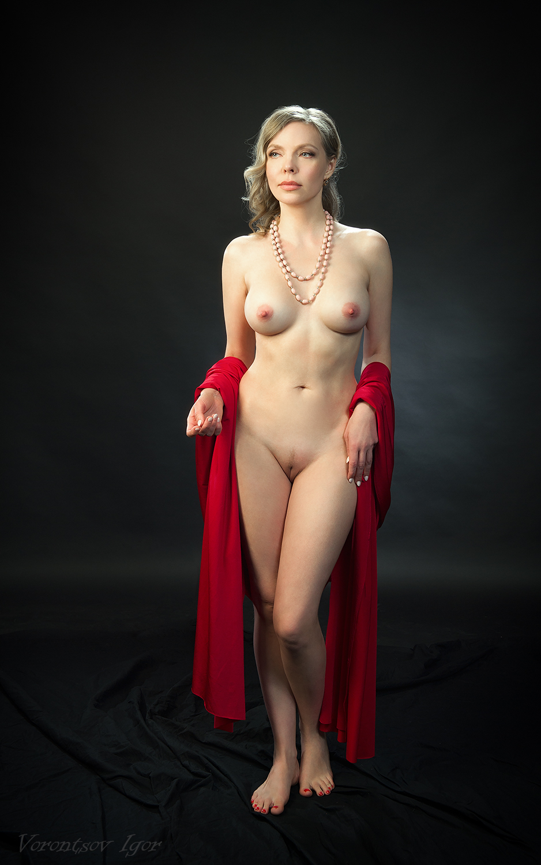 ню, девушка, грудь, обнажённая, красивая, голая, Воронцов Игорь
