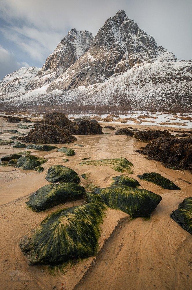 norway,norwegian,beach,mountains,springtime,tromso,northern, arctic, Szatewicz Adrian