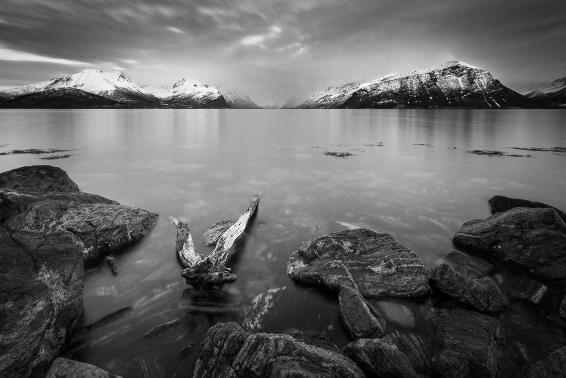 norway,b&w,landscape, Tomek Orylski