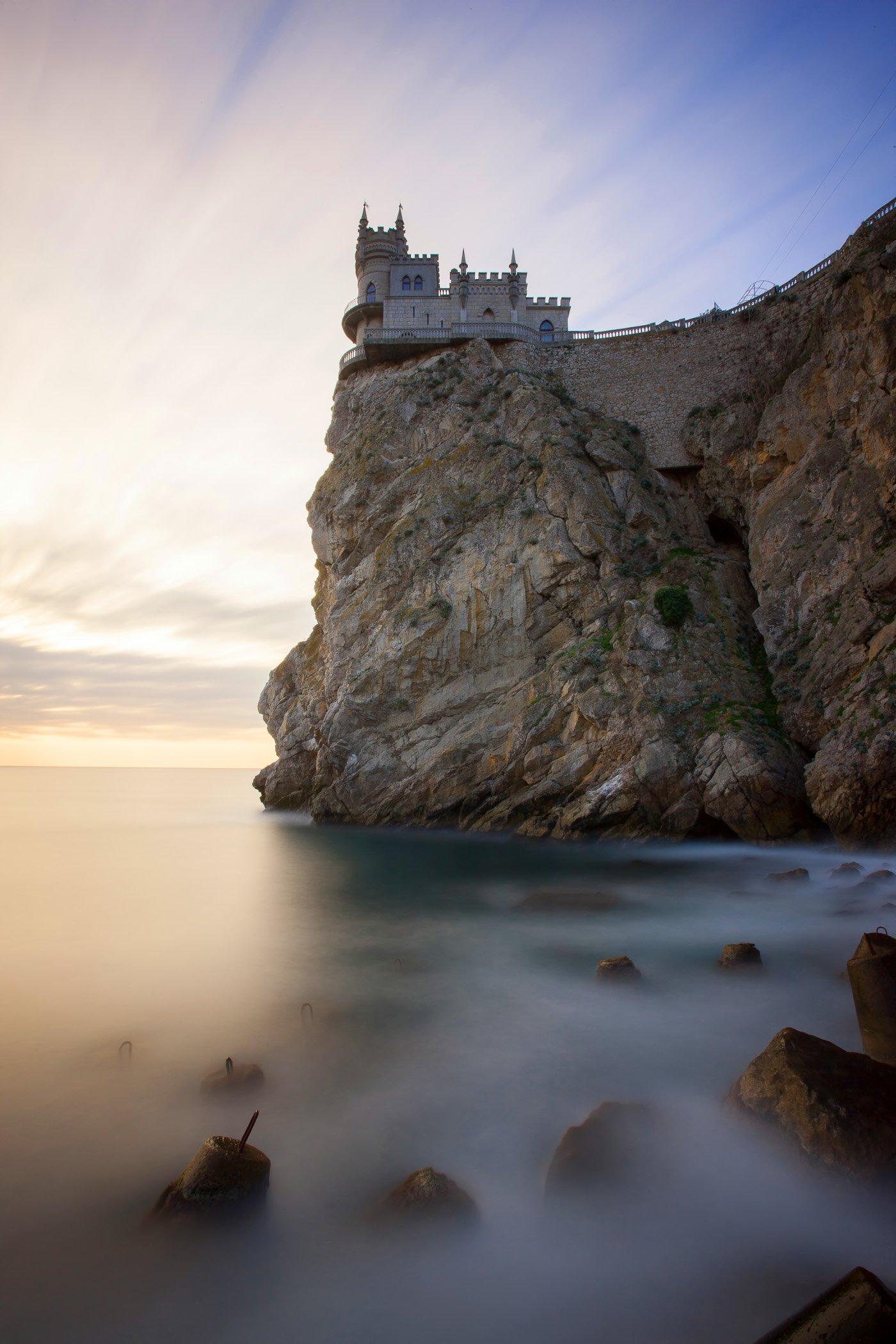ласточкино гнездо, ялта, крым, ай-тодор, мисхор, черное море, ялтинский залив, Titov Serge