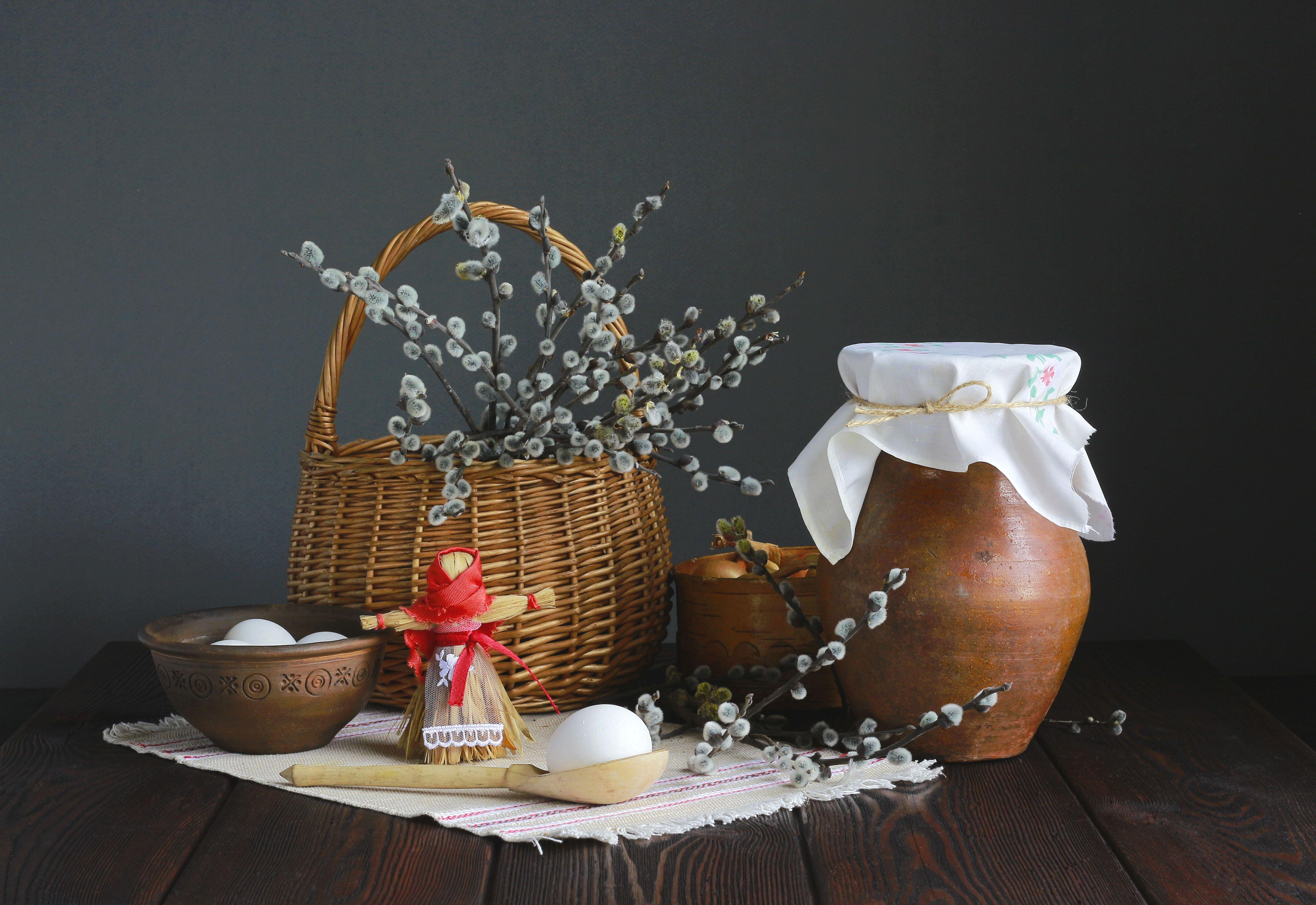 натюрморт, фотонатюрморт, верба, яйца, весна, наталья казанцева, Казанцева Наталья