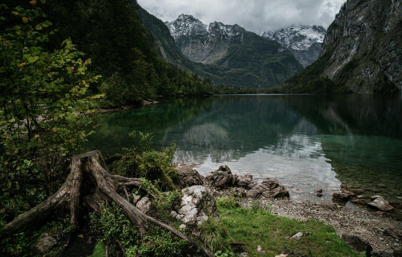 озеро; лес; горы; германия, Александр Удовиченко