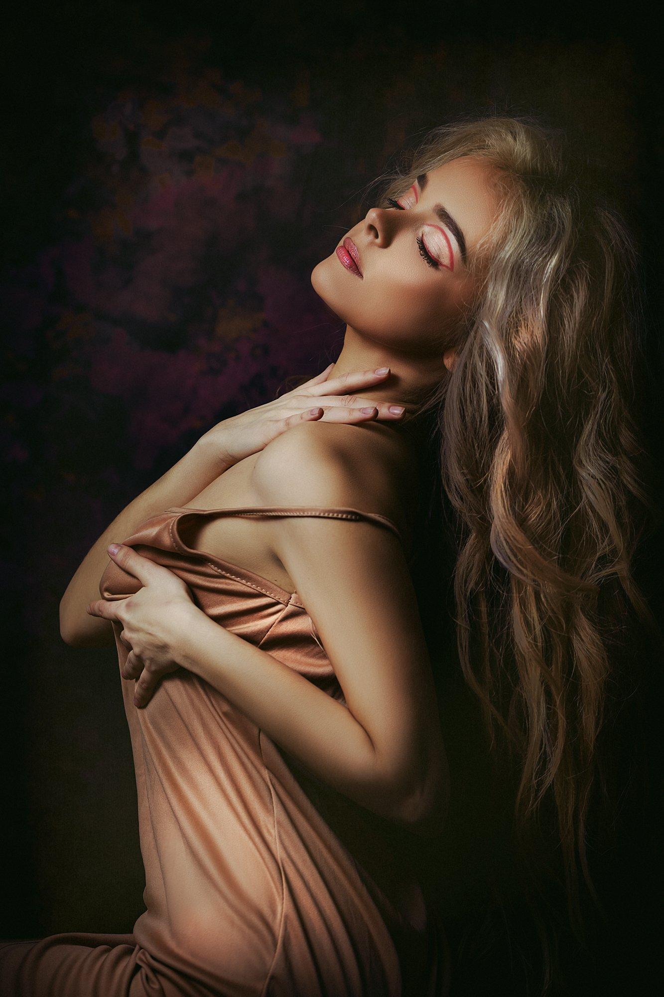 woman, portrait, art, beauty, studio, Руслан Болгов (Axe)