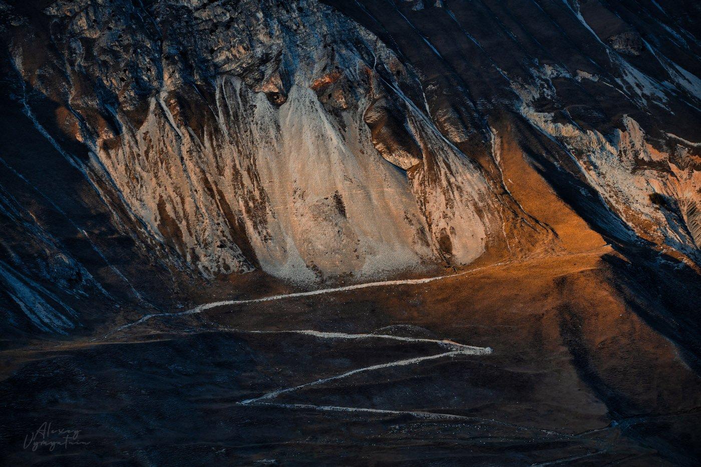 dagestan, дагестан, mountains, sunset. light, серпантин, serpentine, road, Алексей Вымятнин