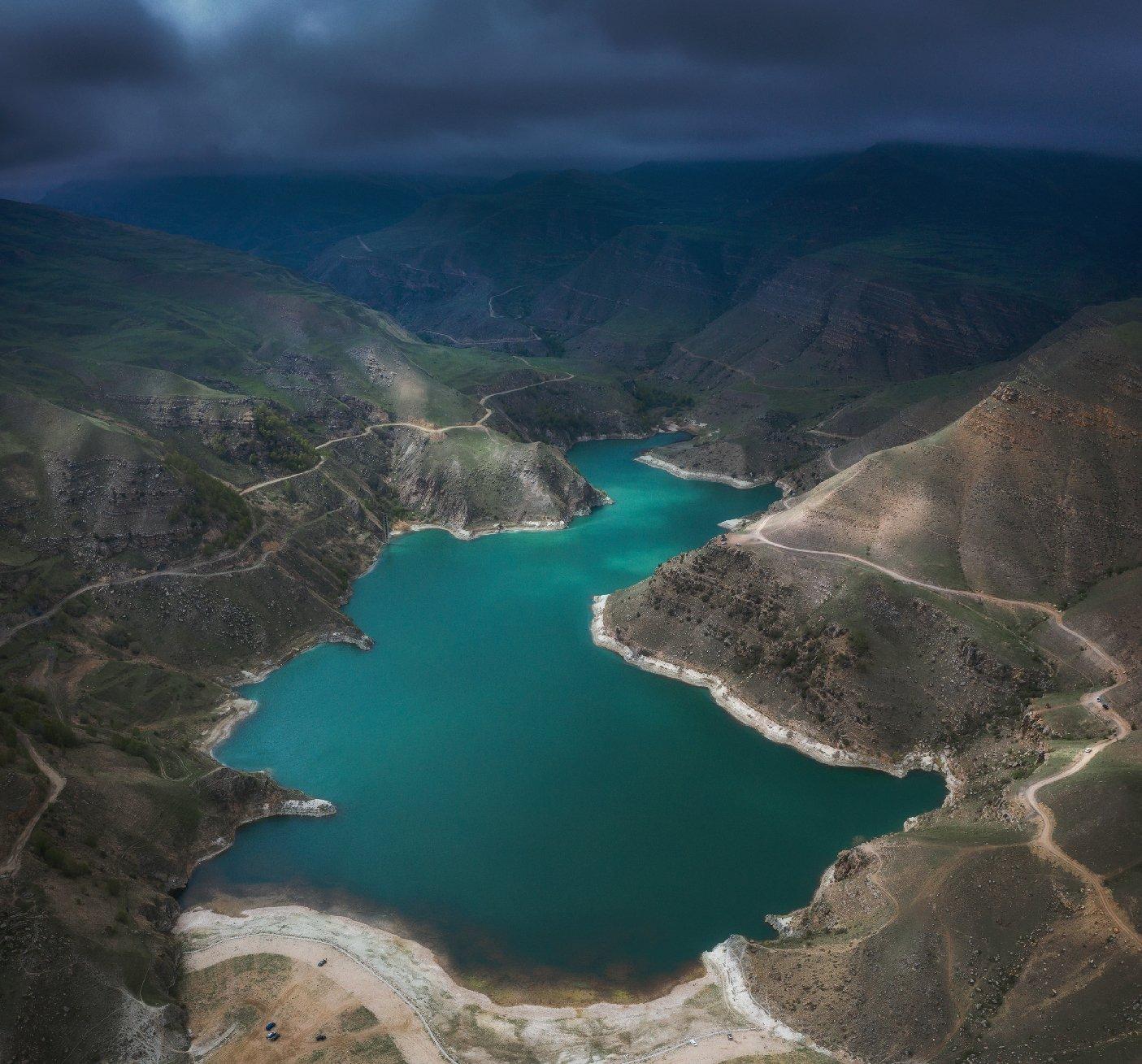 гижгит, озеро, кавказ, пейзаж, Сергей Луканкин