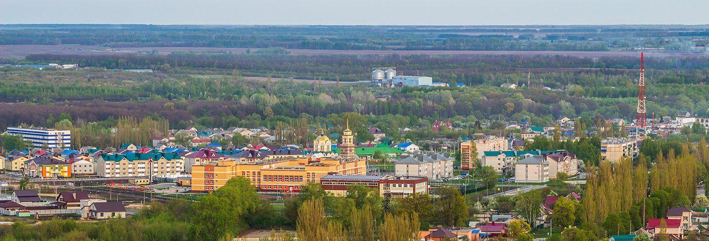 усмань, липецкая область, панорама, высота, Востриков Руслан