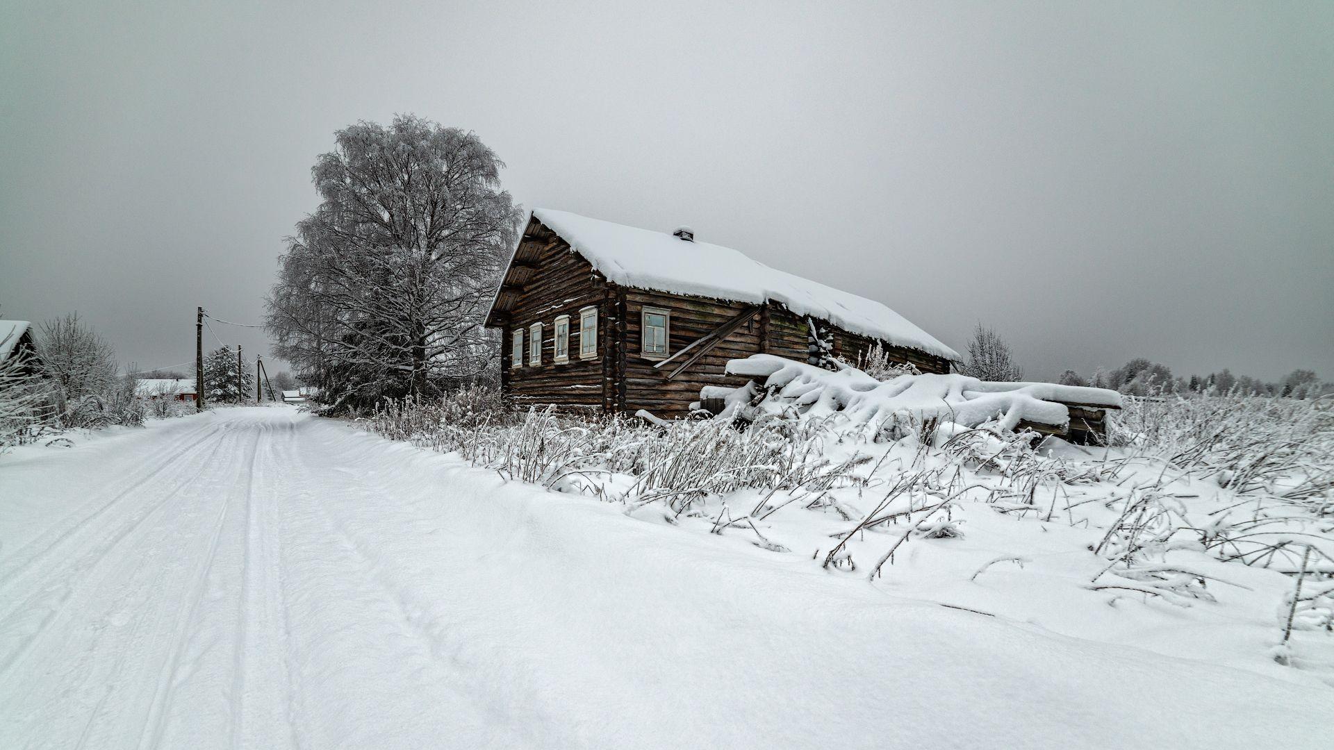 великий двор,вологодчина,кема,север,зима, Роман Горячий