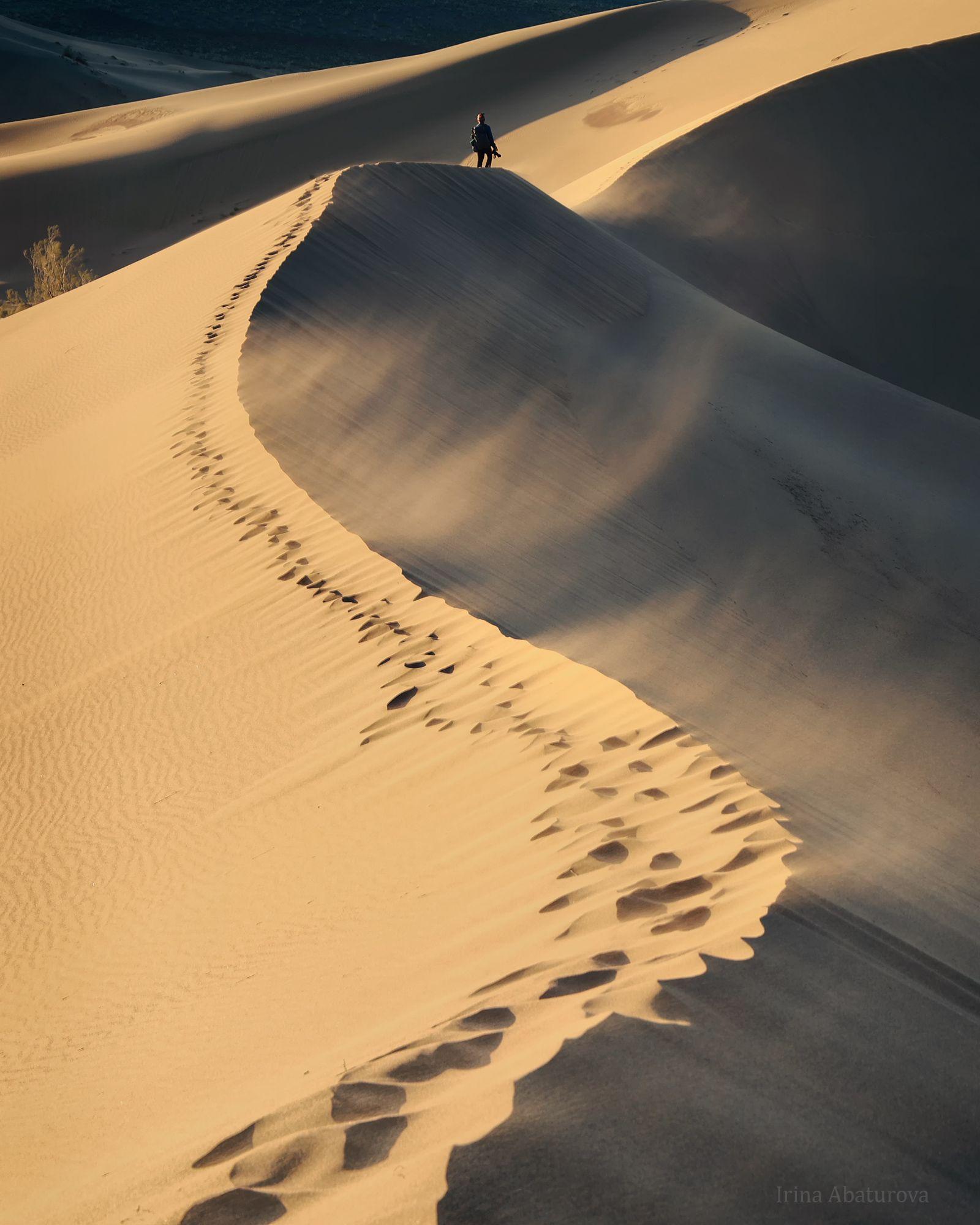 алтын-эмель, поющий бархан, казахстан, дюна, бархан, пустыня, Абатурова Ирина
